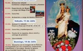 Los Alcazares Virgen del Carmen Romeria 14th July 2019