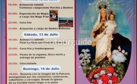 Los Alcazares Virgen del Carmen Romeria 14th July 2019