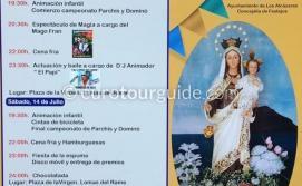 Los Alcazares Virgen del Carmen Romeria 15th July 2018