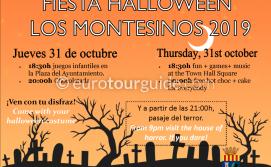 Los Montesinos Halloween Passage of Terror 31st October 2019