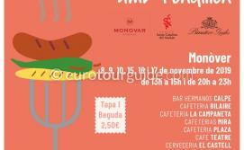 Monovar 14th Anem de Tapas Route 8th-10th & 15th-17th November 2019
