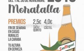 Moratalla Tapas & Cocktail Route 1st-30th November 2019