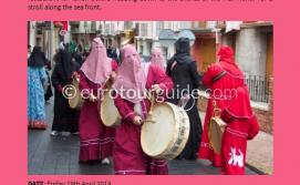 EuroTourGuide Coach Tour Mula Easter Drums 19th April 2019