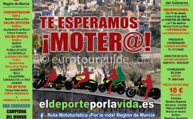 Murcia Motorbike Rally Ruta Mototurística Por La Vida 7th April 2019