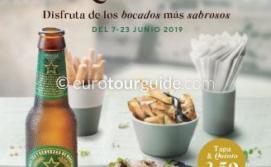 Murcia ExquisitaTapas Route 7th-23rd June 2019