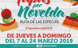 Novelda Tapas 7th-24th March 2019
