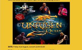 EuroTourGuide Coach Tour Queen Unrisen Concert 31st August 2018
