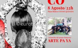 EuroTourGuide Quesada Summer Flamenco Show 8th August 2021