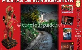 Ricote Patron Saint Fiesta San Sebastian 11th-25th January 2020