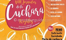 Rojales 8th Spoon Gastronomy 24th February - 6th March 2020