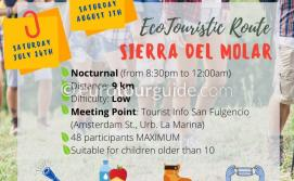 EuroTourGuide San Fulgencio Eco Walking Route 24th July & 7th August 2021