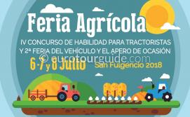 San Fulgencio Tractor Festival 6th-8th July 2018