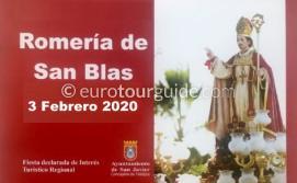 Santiago de la Ribera San Blas Romeria 3rd February 2020