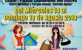 Santiago de la Ribera Summer Discount Fair 14th-18th August 2019