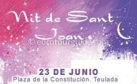 Teulada San Juan Hogueras 23rd June 2019