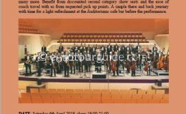EuroTourGuide Coach Tour Film Music Concert Torrevieja 6th April 2019