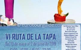Torre de la Horadada Coastal Tapas and Cocktail Route 10th May - 2nd June 2019