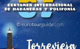 EuroTourGuide Torrevieja 67th International Habaneras Song Competition18th-24th July 2021