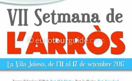 Villajoyosa / Vila Joiosa Gastronomic Week VII Setmana de l'Arròs 11th-17th September 2017