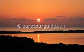 Where to go La Manga Strip Mar Menor Costa Calida Murcia Spain, watching the sunrise at the end of the strip is one of many things to do and places to visit here.