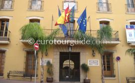 Town Hall Ajuntamiento in Ondara Costa Blanca Spain,Town Hall is one of many things to do and places to visit in Ondara