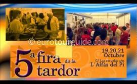 Spot 5ª Feria de la Tardor de L'Alfàs, 19-21 de Octubre