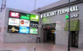 Train Stations in the Costa Blanca South by www.eurotourguide.com