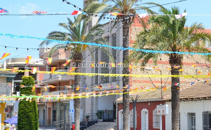 Algorfa Village 2014 Programme Virgen Del Carmen Fiesta Alicante Spain