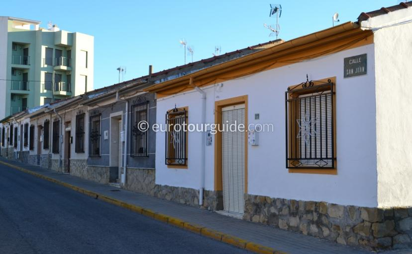 What is traditional village like in Los Montisinos Costa Blanca Spain