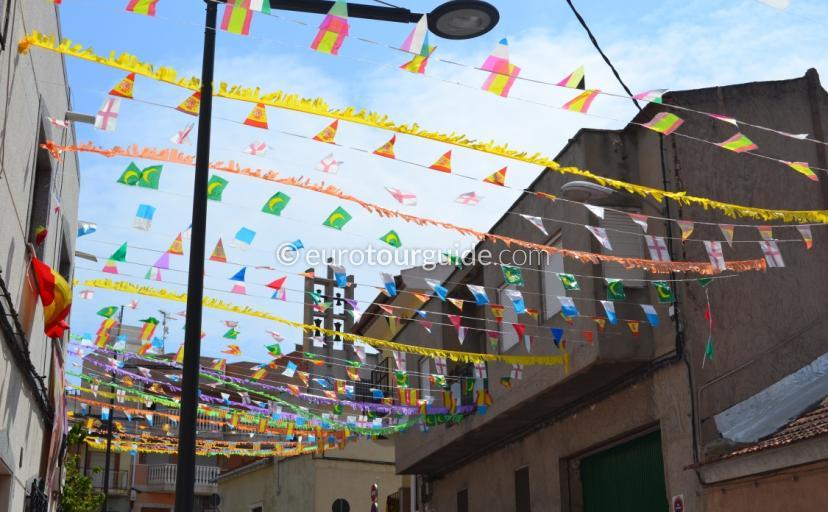 Virgen Del Carmen Annual Fiesta Algorfa 2014