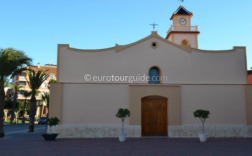 Where to go in Los Montisinos, the church offers a great insight in to the Catholic Religion here in Spain