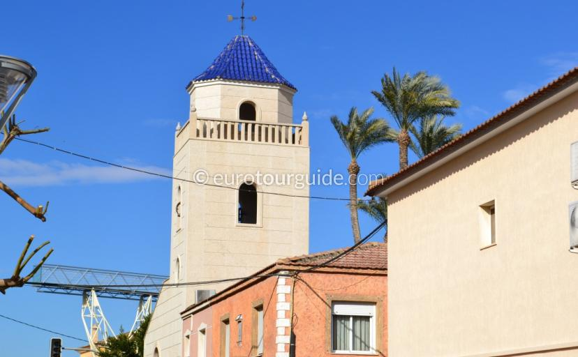 Daya Vieja Church Square, What to see in the Costa Blanca