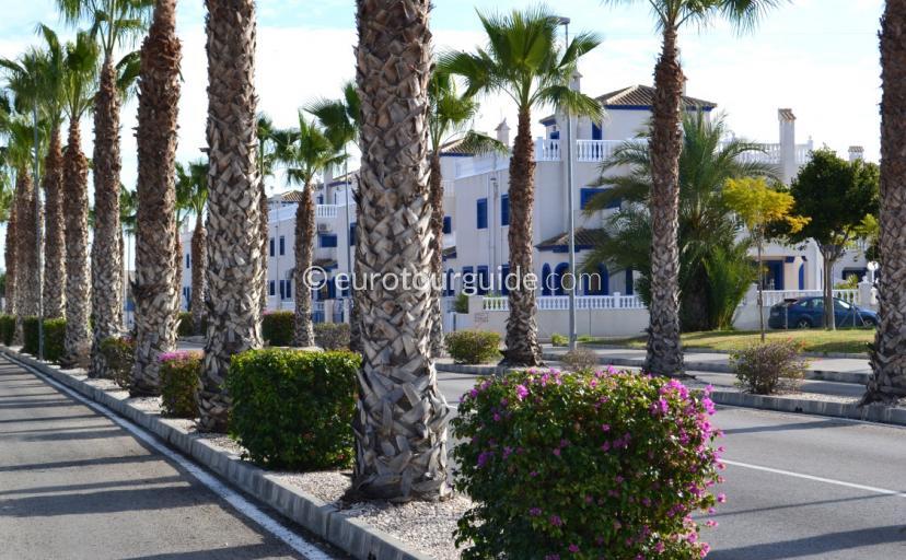 Urbanisations in Daya Vieja Alicante Spain