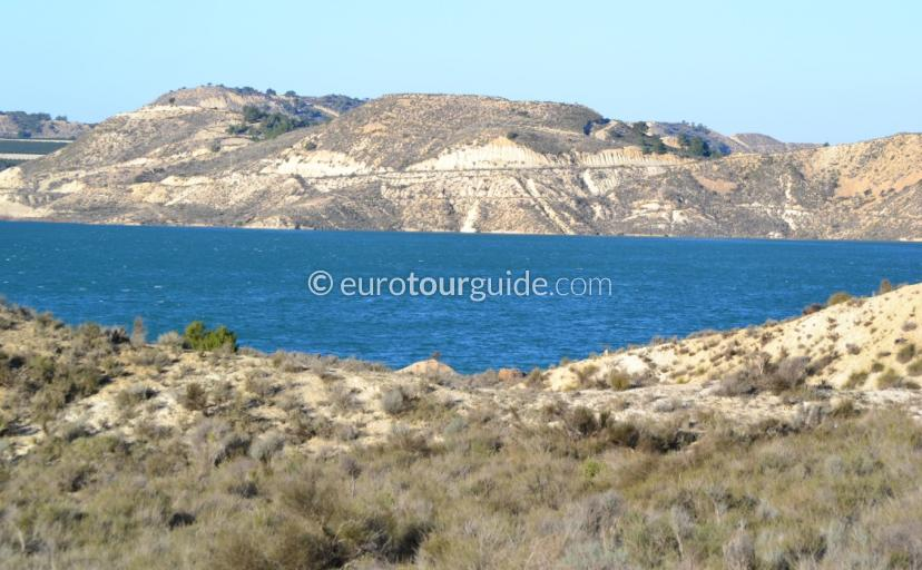Places to visit in the Costa Blanca, a half day out to Emblase Pedrera is a great scenic drive