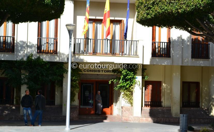 Ayuntamiento Almoradi Alicante Spain
