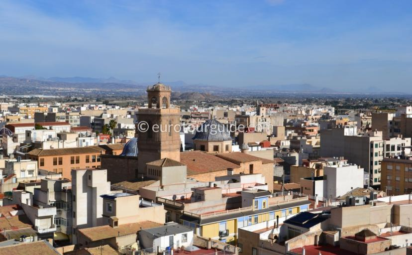 Callosa de Segura Panoramic Image Alicante Spain
