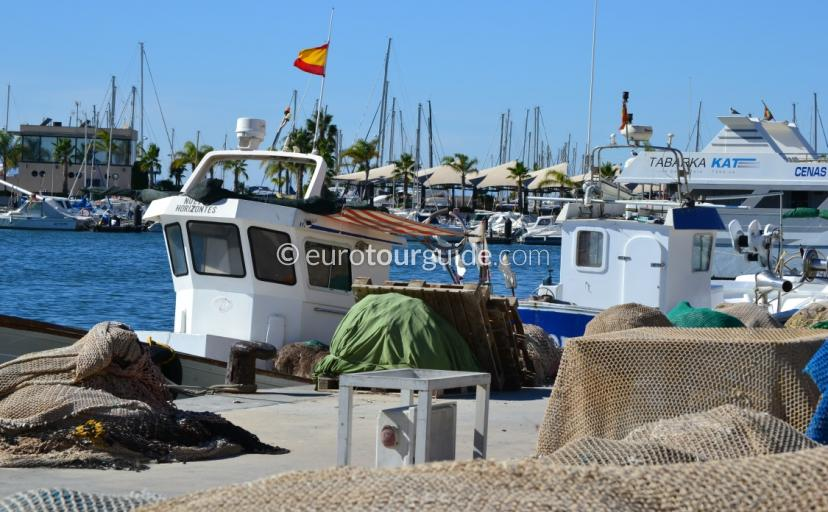 Images of Fishing Boats in Santa Pola