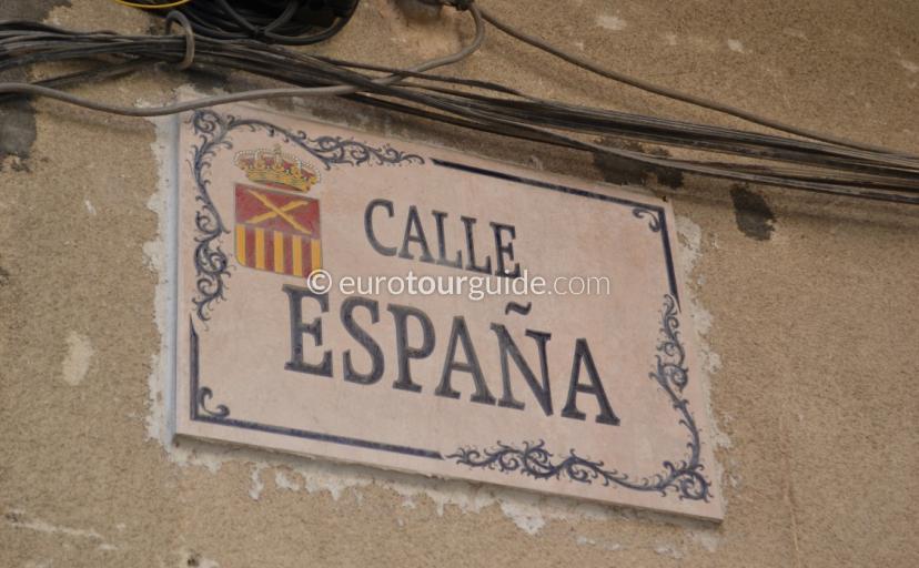 Calle Espana Almoradi Spain Where to go in Almoradi