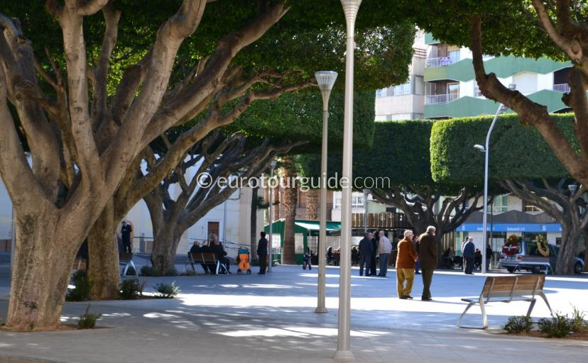 What is Village Like in the Costa Blanca Spain