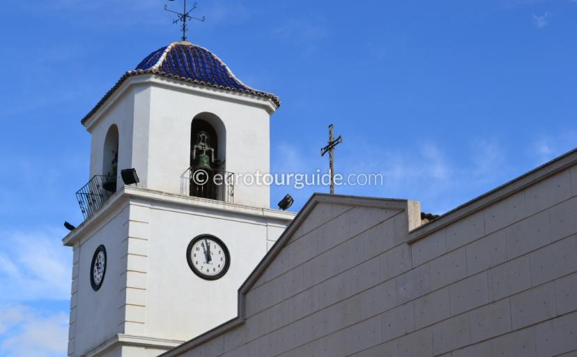 San Fulgencio Church Square Alicante Spain