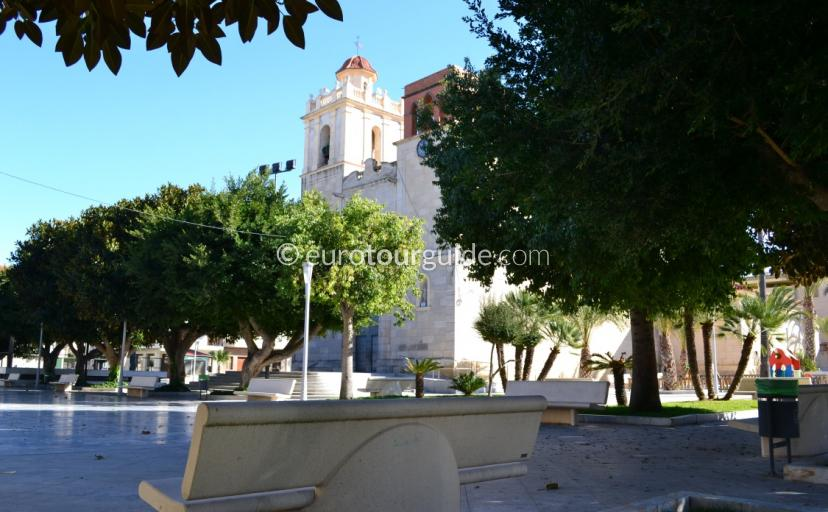 Benejuzar Church Square Alicante Spain