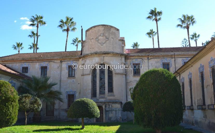 Jardines del Palacio del Marques de Fontalba in Jacarilla Alicante Spain