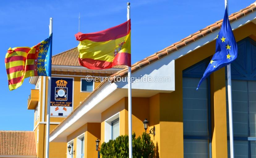 Where to go in Orihuela Costa Spain, try the Dehesa de Campoamor Club House a little bit of style awaits