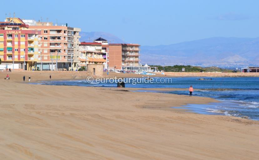 Beaches of La Mata Costa Blanca Spain