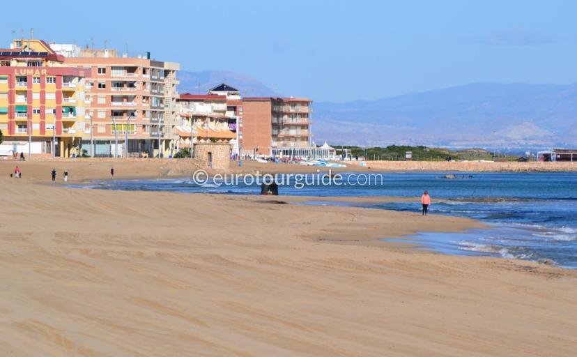 Beaches of La Mata Costa Blanca Spain