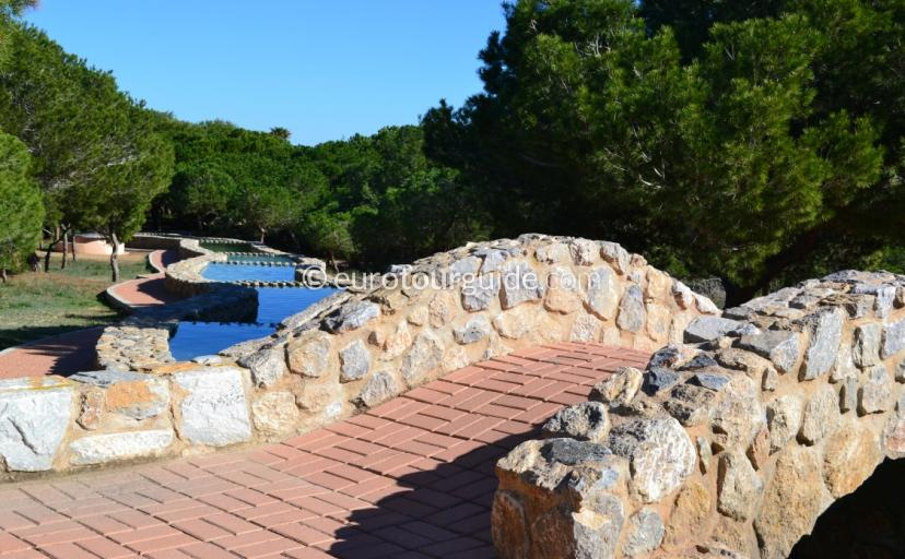 Where to go in La Mata Costa Blanca Spain, try the large and picturesque park running along the beach