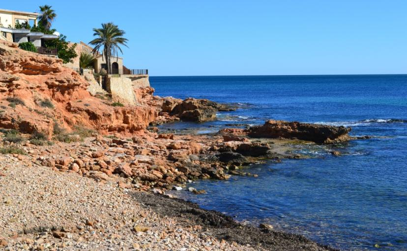 Where to go in Torrevieja, Discover the idylic coves on the outskirts of town