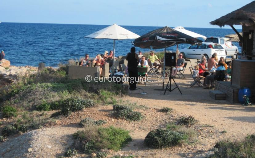 Punta Prima beachs, sand, sea, coves, cliffs and rock pools