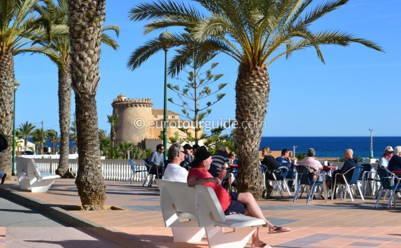Things to do in Pilar and Torre de la Horadada, walking along the promenade eating ice cream is everyones favourite