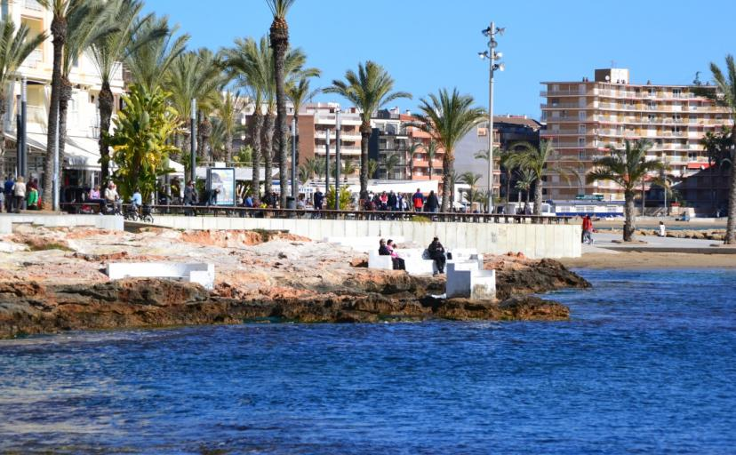 Images of Torrevieja Sea Front, things to do in Torrevieja
